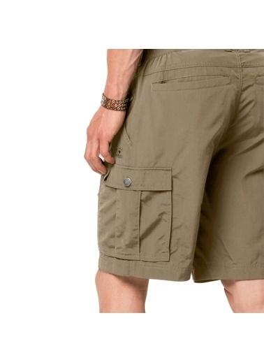 Jack Wolfskin Jack Wolfskın Canyon Cargo Shorts Erkek Şort Bej